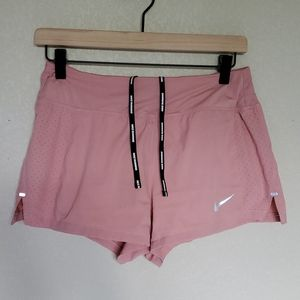 NIKE built in brief shorts dusty pink S